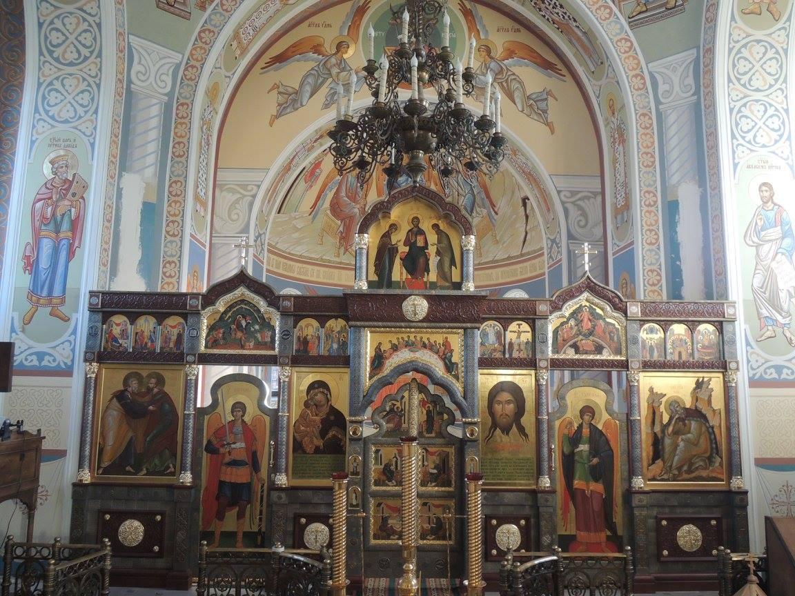 Установлен иконостас в храм во имя святого пророк Илии в с. Дыдылдино