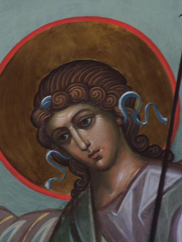 Завершены работы по реставрации и восстановлению росписи Крествоздвиженского храма в Хвалынске